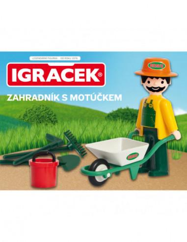 Igráček - Zahradník s Motúčkem